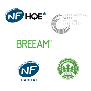 Expertises - Certification HQE BREEAM WELL
