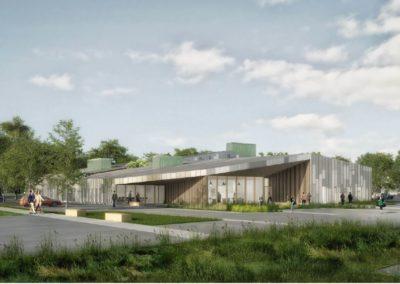Centre socioculturel à Mirebeau-sur-Bèze