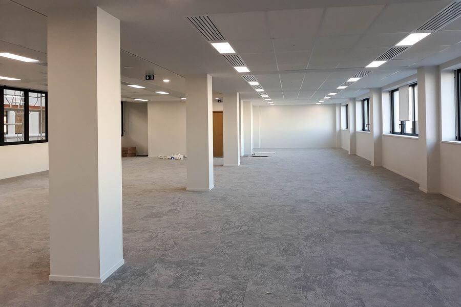 Bureaux 94 Gambetta chantier Intérieur