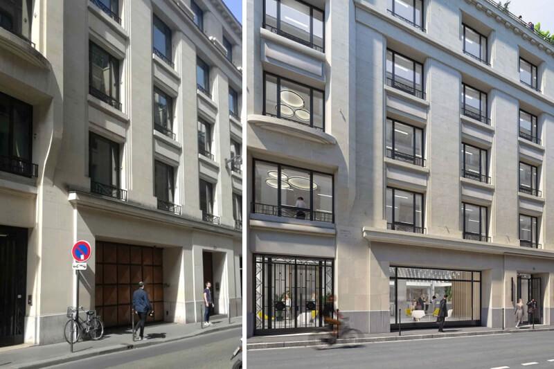Bureaux 39 Colisée rue