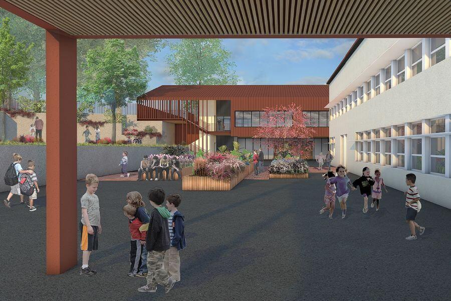 Ecole-Vincent-Indy_Récréation