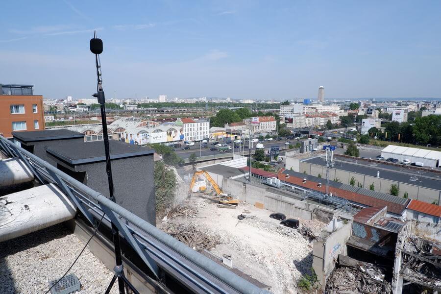 Monitoring Wilson_vue toit