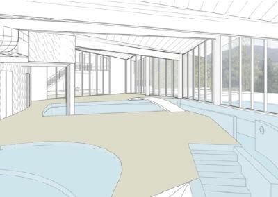 Centre aqualudique à Saulxures-sur-Moselotte