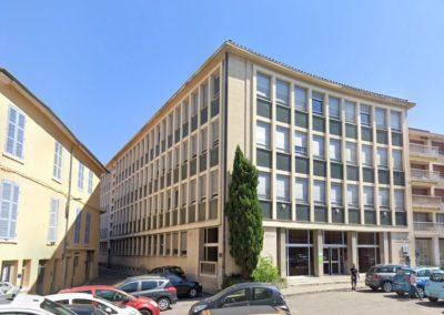 Réhabilitation CPAM à Vienne